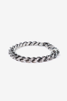 UNEVEN CHAIN SILVER BRACELET[one color / 8size]