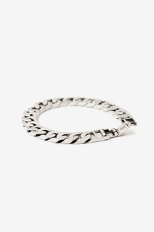 SQUARE CHAIN SILVER BRACELET[one color / 8size]