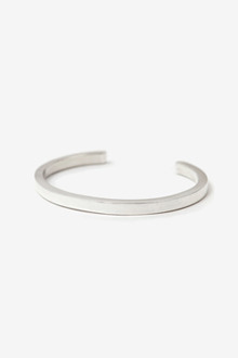 CURVE SILVER BRACELET[one color / 8size]