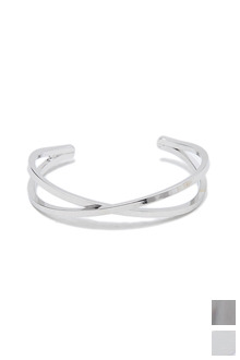 EKS METAL BANGLE엑스 메탈 뱅글[2color / one size]